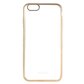 X-Fitted Protective Back Case Plated TPU Bumper Shell Cover for iPhone 6 6S 4.7inch