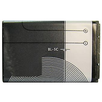 1020mAh BL-5C Batterie pour Nokia N72, N71