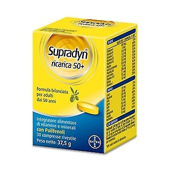 Supradyn Refill 50+ (OTC) 30 tablets