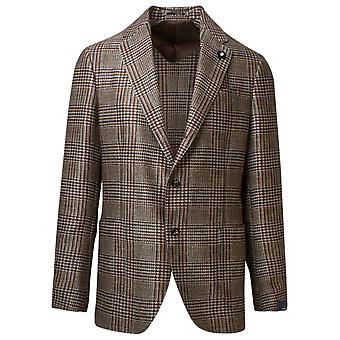 Lardini Im946aea55536200ru Men's Beige Wool Blazer