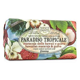 Paradiso tropicale triple slipad naturlig tvål hawaiian maracuja & guava 189802 250g/8.8oz