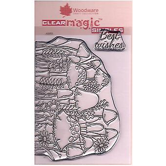 Woodware Clear Stamps - Toadstool Clump