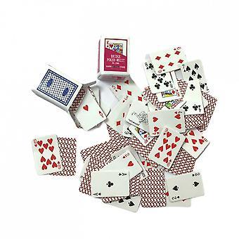 Dockor Hus 2 däck spelkort Miniatyr studera pub spel rum tillbehör