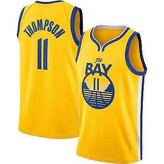 Golden State Warriors Thompson Loose Basketball Jersey Sports Shirts 3QY032