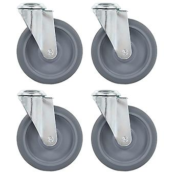 Steering wheels with bolt hole 4 pcs. 125 mm