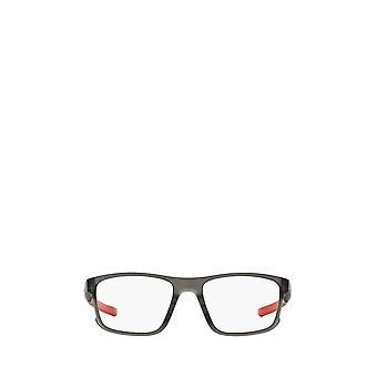 أوكلي OX8078 الساتان الرمادي دخان النظارات الطبية الذكور