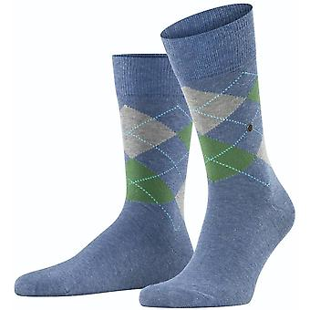Burlington King Socks - Jeans Blue