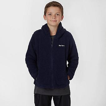 New Peter Storm Boy's Full Zip Long Sleeve Teddy Fleece Navy