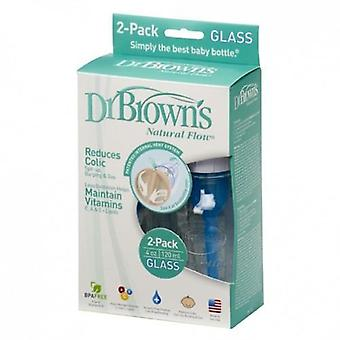 Dr. Brown's Wide Mouth Bottle Glass 2 pcs 150 ml