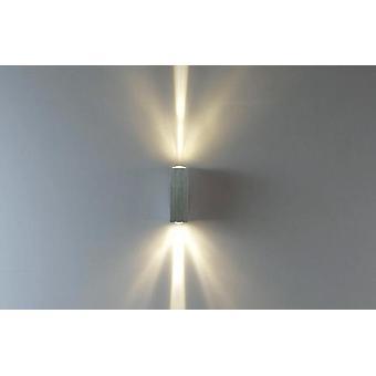 Lampe murale led moderne - Aluminium haut / bas de la lumière