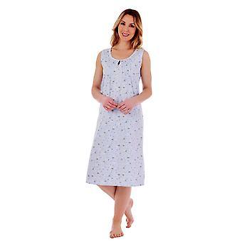 Slenderella ND77260 Women's Floral Cotton Nightdress
