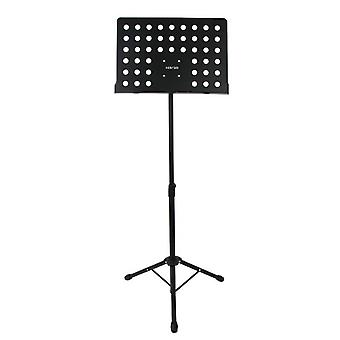 Professional music stand sheet holder orchestral fully adjustable - tripod base high grade metal