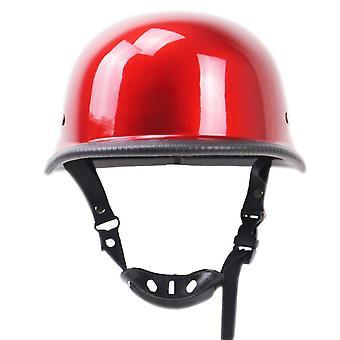 Мотоцикл матовый немецкий половина лица шлем вертолет крейсер байкер