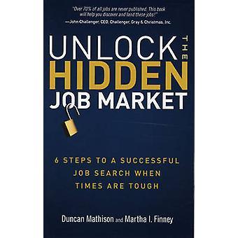 Avaa piilotetut työmarkkinat - 6 vaihetta onnistuneeseen työnhakuun, kun