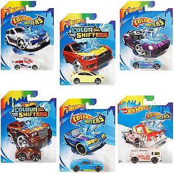 Hot wheels colour shifter vehicle 6 supplied