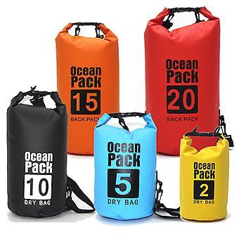 Wodoodporny wodoodporny dry bag sack pack pack poczekalnia na świeżym powietrzu Kajakarstwo kajakarstwo Safari Rzeka Trekking Łódka