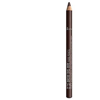 ريميل لندن الحاجب بهذه الطريقة الألياف قلم رصاص 003 الظلام