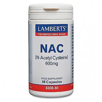 Lamberts Nac N-Acetyl-Cystein 600 mg 60 Kapseln