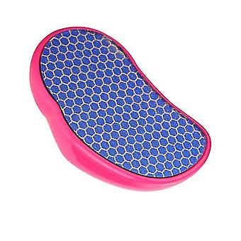 Fuß-Datei entfernen tote Haut Glas Datei und reiben Fußbrett Nano Glas Fußmühle (rosy golden)
