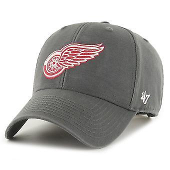 47 Merk Strapback Cap - LEGEND Detroit Red Wings houtskool