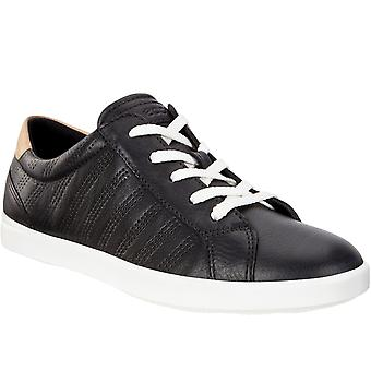 Ecco Womens Leisure Leather Lightweight Casual Fashion Trainers