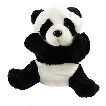 25cm Tiger Hand Puppet Jungle Friends Plush Animals Toy For Kids Play