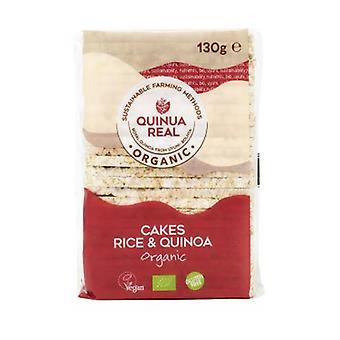 Organic rice soffiette with quinoa 130 g