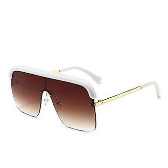 الرجعية شبه rimless النظارات الشمسية المستقطبة للرجال والنساء y884
