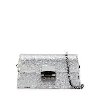 Trussardi -BRANDS - Bags - Clutches - CORIANDOLO-75B00554-97M020 - Women - Silver