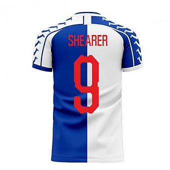 Blackburn 2020-2021 Home Concept Football Kit (Viper) (Shearer 9)