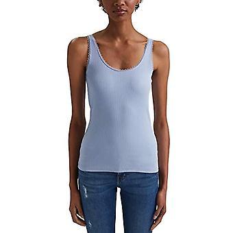 edc de Esprit 031CC1K311 Camiseta, 445/Lavanda Azul Claro, L Mujer