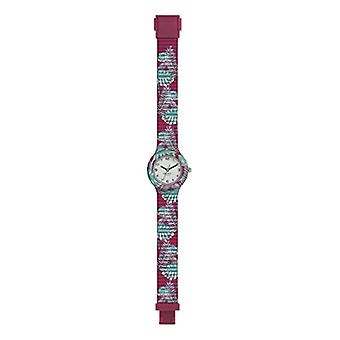 WOMEN'S HIP HOP WATCH JUNGLE FEVER MONO-COLOR DIAL WHITE MOVEMENT ONLY TIME - 3H QUARTZ and SILICONE BAND PRINTED Ref. 7612901716855