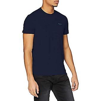Pepe Jeans Original Basic L/S T-Shirt, Blue (Navy 595), Medium Men's