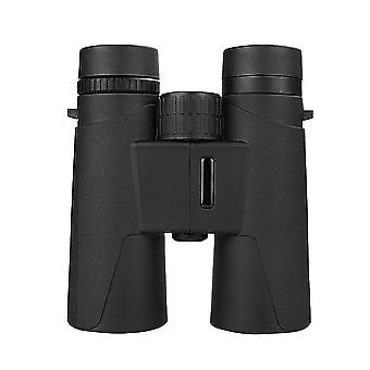 10 x 42 Compact Binoculars - Professional HD Waterproof Binoculars - For Bird Watching, Hiking, Hunting, Touring, FMC Lens, Carry Bag and Smartphone Adapter(Black)