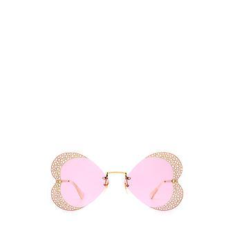 Gucci GG0897S guld kvindelige solbriller