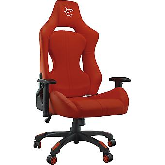 Weißer Hai Monza Racing Gaming Stuhl PU Leder - Rot
