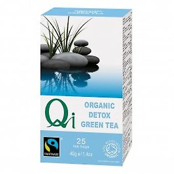 Qi Teas - Organic Green Tea Detox 25 Bag