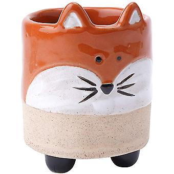 CGB Giftware Fox Design House Plant Pot