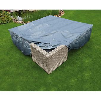 Natuurtuinmeubelenhoes voor lage tafelstoelen 200x200x70 cm