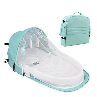 Portable Bed, Foldable Baby Cot Travel Bed