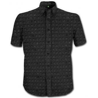 The Beatles Hard Days Night Blk Short Slve Shirt: Klein