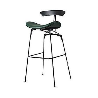 יוקרה לופט מתכת פופולרי פו עור רך כיסוי כיסא בר גבוה דלפק שרפרף