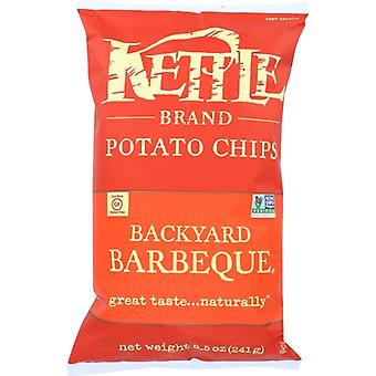 Kettle Foods Chip Pto Backyard Bbq, Case of 12 X 8.5 Oz
