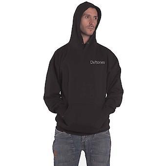 Deftones Hoodie Eyes Repeat Band Logo new Official Mens Black Pullover