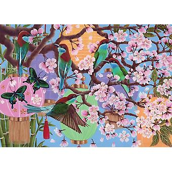 Ravensburger Cherry Blossom Time Jigsaw Puzzle (1000 Pieces)