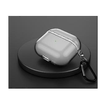 Gemdeck Airpod Pro case met sleutelhanger en loopriem (GRIJS)