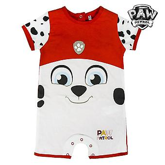 Baby's Short-sleeved Romper Suit The Paw Patrol 74441