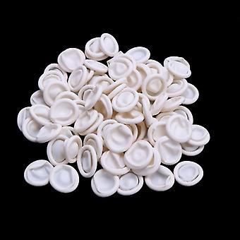 Kertakäyttöiset lateksikumisormikoppasarjat , suojakäsineet