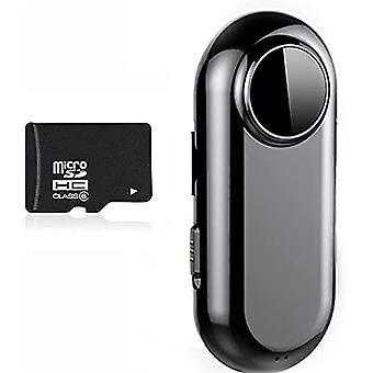 D2 HD Audio- und Videoaufnahme Intelligente Audio-Belichtungsschleife Smart Card Slot Student Class Recorder - 128GB (Schwarz)
