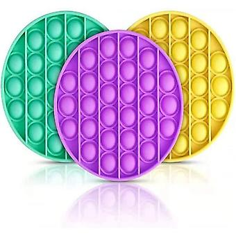 Push Pop Bubble Stress Reliever Round Shaped